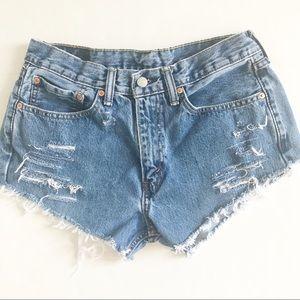 Levi's Vintage Handmade Cut Off Shorts